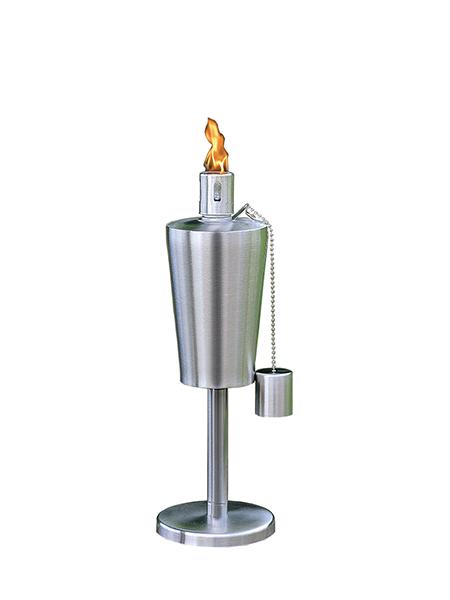 CT-203 Stainless Steel Table Torch för Backyard uteplats facklor